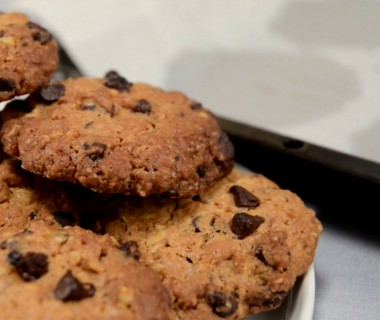 Cookies flocons d'avoine-chocolat